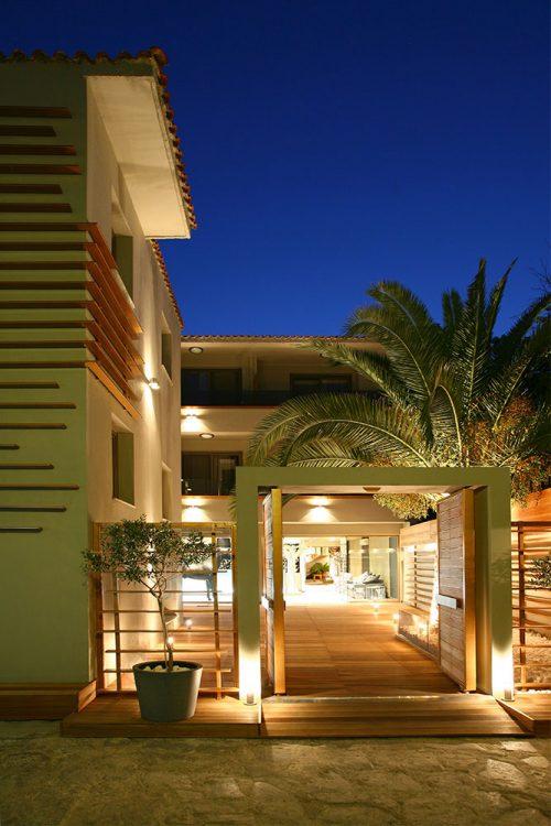 Entrance - Bourtzi Hotel