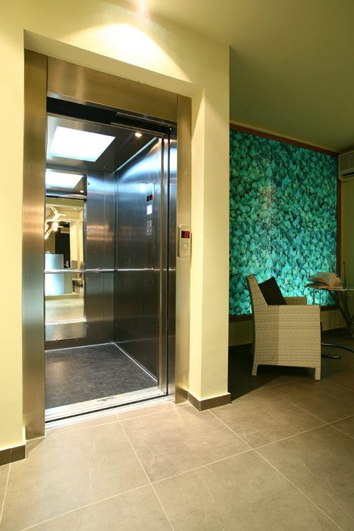 Elevator - Bourtzi Hotel
