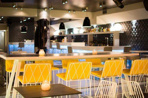 Lobby Coktail Bar - Skiathos Island - Outdoor Tables View