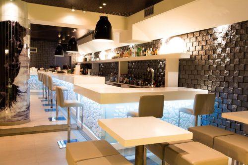 Lobby Coktail Bar - Skiathos Island - Bar View Full Inside