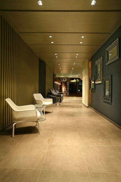 Reception Living Room - Bourtzi Hotel