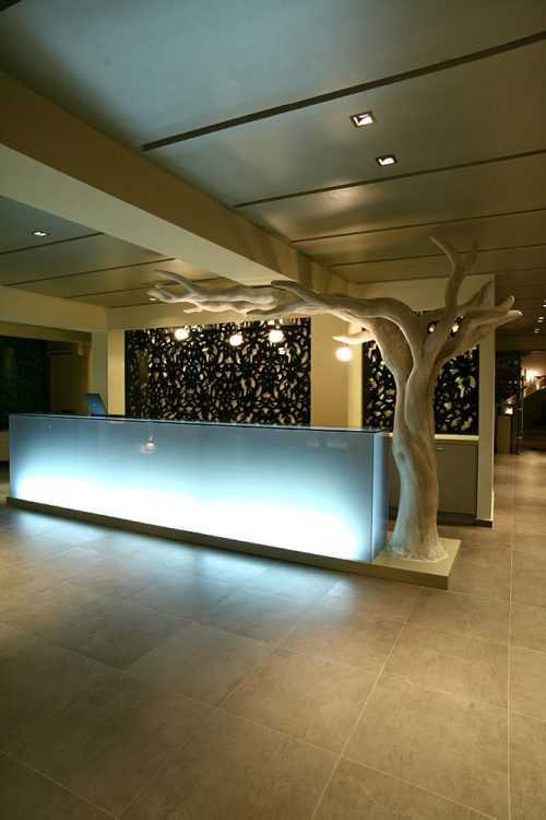 Reception Desk - Bourtzi Boutique Hotel