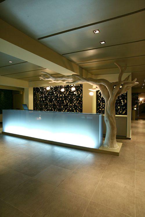 Reception Desk - Bourtzi Hotel