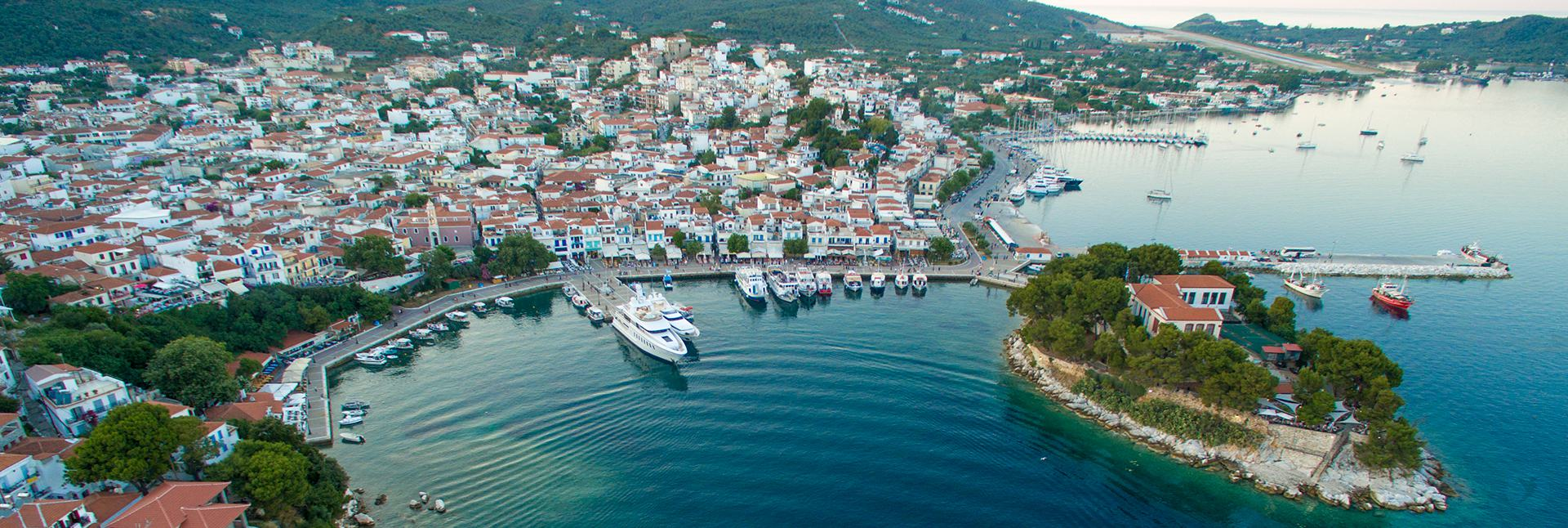 Skiathos Island - Old Port - Airport - Bourtzi - Bourtzi Boutique Hotel