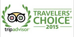 Trip Advisor Travelers Choice Award 2015