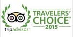 Trip Advisor Travelers Choice Award 2015
